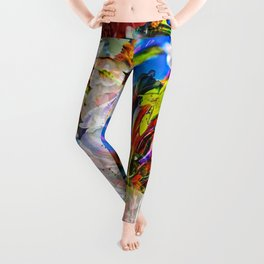 Abstract Perfection 14  Spring Leggings