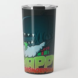 Happy Xenomorphmas Travel Mug