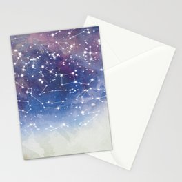 Star Constellations Stationery Cards
