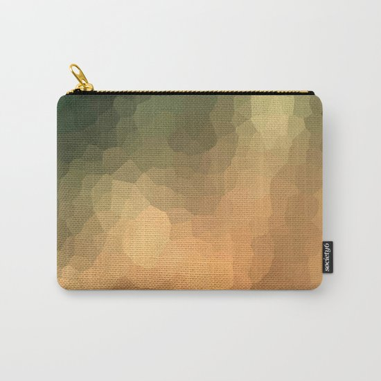 "Abstract pattern ""Sunny day "". Carry-All Pouch"