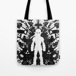 Ink Blot Link Kleptomania Geek Disorders Series Tote Bag