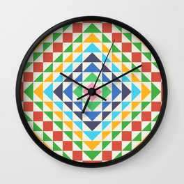 Simple Grid for Summer Wall Clock