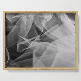 Abstract veil background 2 Serving Tray
