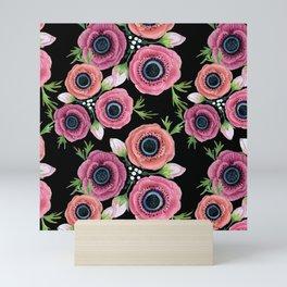Anemone Floral Mini Art Print