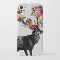 Spring Itself Deer Floral iPhone 7 Slim Case