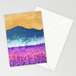 Lavender Field of Skagit Valley, Washington #119 by Mike Kraus - seattle flowers landscapes mountain Stationery Cards
