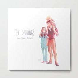 The Darlings Metal Print