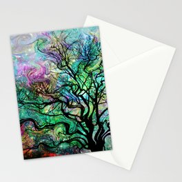 Van Gogh's Aurora Borealis Stationery Cards