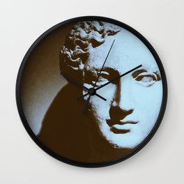 Head of a Goddess - photo Wall Clock