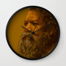 Old Man Wall Clock
