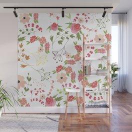 Summer pattern Wall Mural