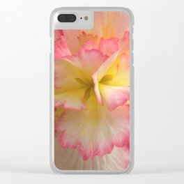 Charolette's Begonia by Mandy Ramsey, Haines, Alaska Clear iPhone Case