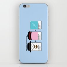Badtones iPhone & iPod Skin