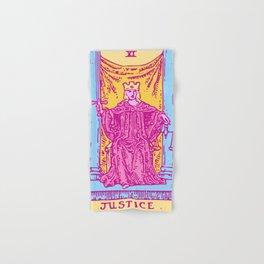 Justice - A Femme Tarot Card Hand & Bath Towel