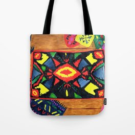 The Resting Floor Tote Bag