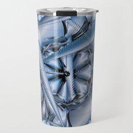 Blue Steel Travel Mug