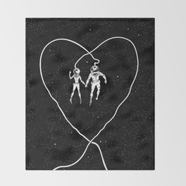 Love Space Throw Blanket