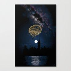 Moon Light Ride Canvas Print