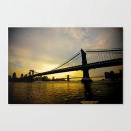 GW Bridge NYC Canvas Print