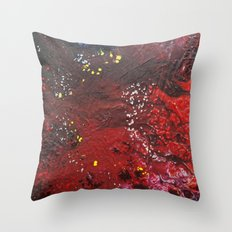 Abstract liquidity. Throw Pillow
