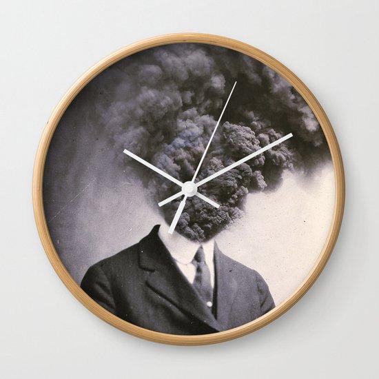 Outburst Wall Clock