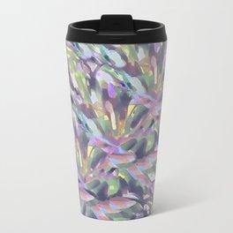 Soft Pastel Garden Abstract  Travel Mug