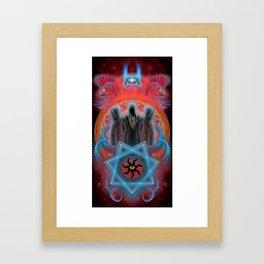 The Secret Keepers of Dagon Framed Art Print