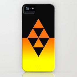Legend Of Zelda Triforce iPhone Case