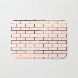 Copper Subway Tiles Bath Mat