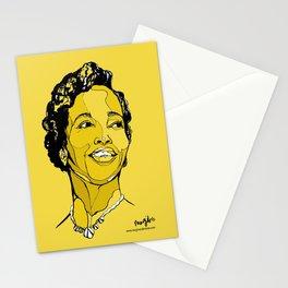 Dorothy Ashby harpist Stationery Cards