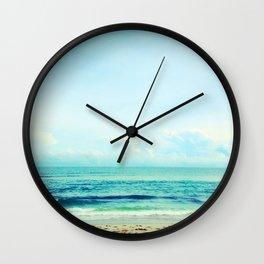 sea sheila beach Wall Clock