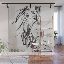 vogue lady 2017 Wall Mural