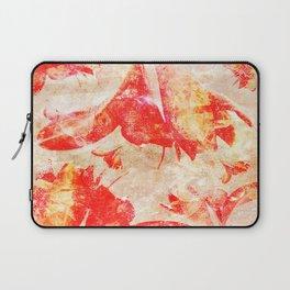 Abstract Amaryllis Laptop Sleeve