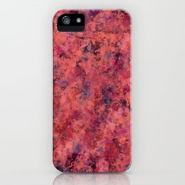 Coral Clouds iPhone Case