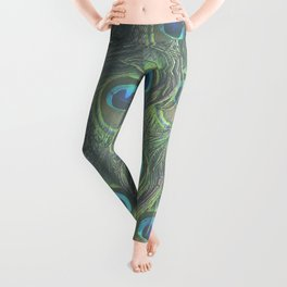 Peacock Feather Lovers Leggings
