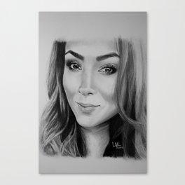 pretty one Canvas Print