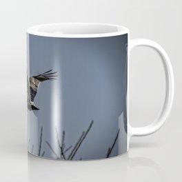 Pelican Breezing Thru The Trees Coffee Mug