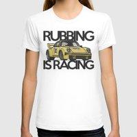 porsche T-shirts featuring Porsche Racecar by CarGuyCam