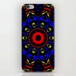 Primary Kaleidoscope 2 iPhone Skin