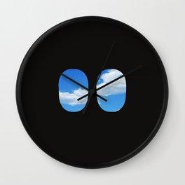 Airplane Windows Wall Clock