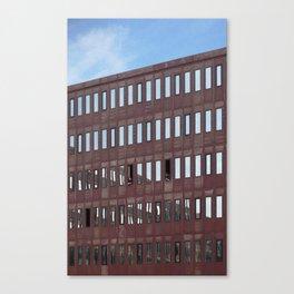 Amsterdam Conversation Canvas Print