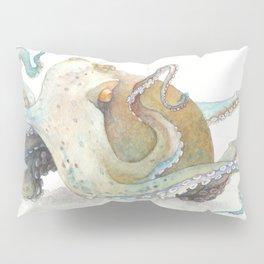 Watercolor Octopus Pillow Sham