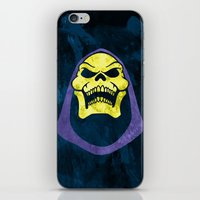 skeletor iPhone & iPod Skins featuring Skeletor by Some_Designs