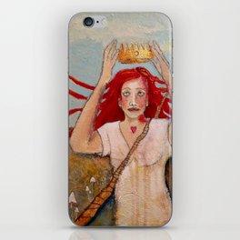 Crowning Herself iPhone Skin