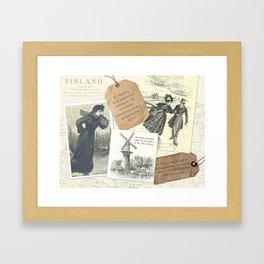 Skating History Framed Art Print