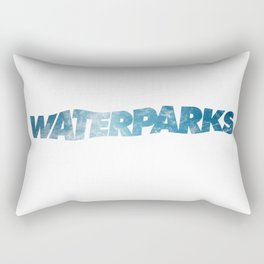 waterparks ocean Rectangular Pillow