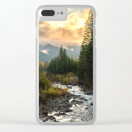 The Sandy River I - nature photography Clear iPhone Case