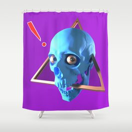 Trinity Skull Shower Curtain