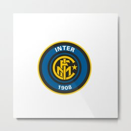 Inter Milan Logo Metal Print