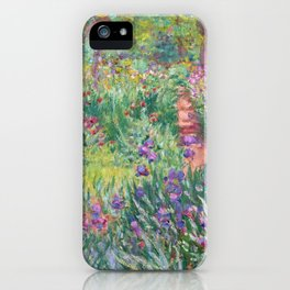 Claude Monet - The Artist's Garden in Giverny iPhone Case
